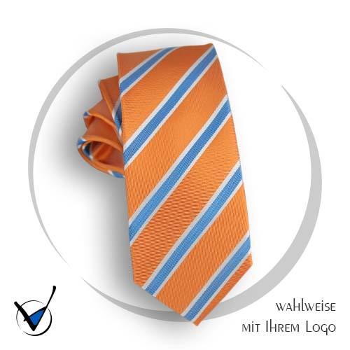 Krawatte Volksbank 7, Seide gewebt, Far be 1