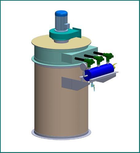 Фильтр напорный (силосный) для бункеров