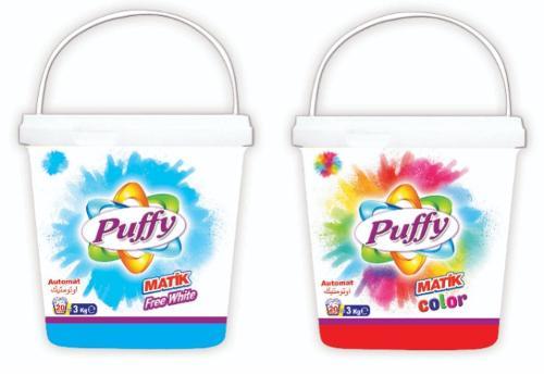 Puffy Automat Powder Detergent 3 KG Bucket