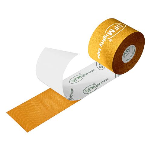 SFMighty Tape silk in Folie 5cmx5m Kinesiologie gelb (1)