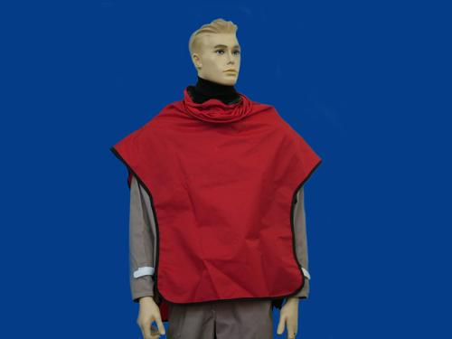 Red Nylon Cape