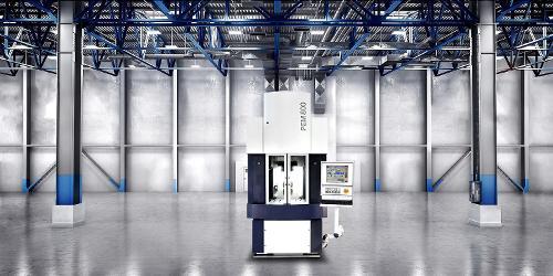 PEM800, the serial production PECM machine