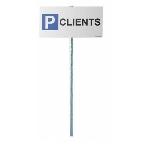 Kit panneau parking clients