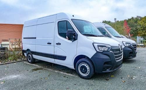 Transport de véhicules utilitaires, vans et fourgonnettes