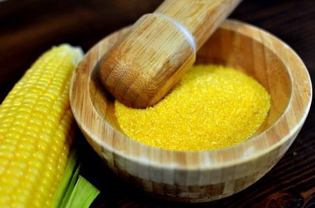 Corn polenta