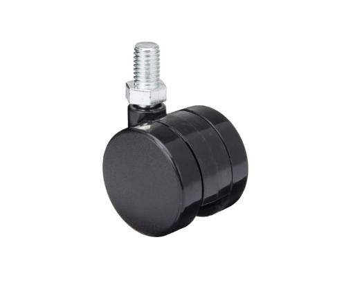 STRONG Castor 40 mm with spigot M10 black