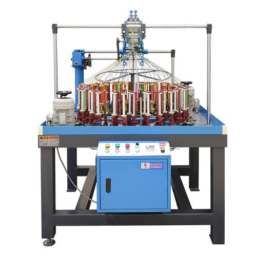 77 spindle carrier flat Lace braiding machine