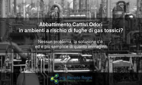 Abbattimento Odori in presenza di Gas Tossici