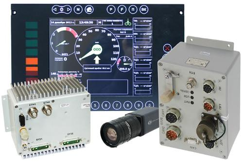 Train movement parameters monitoring and recording system