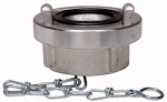 Storz blind coupling, Chain, Aluminium, Storz size 110-A