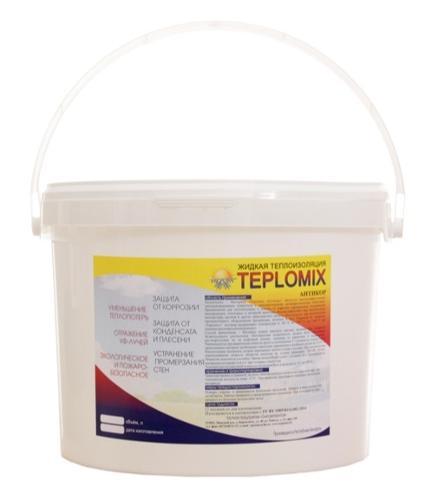 Жидкая теплоизоляция Teplomix