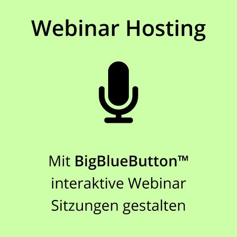 Webinar Hosting