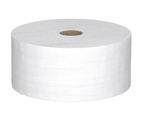 Туалетная бумага белая, 1 сл.