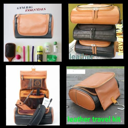 Leather Travel kit
