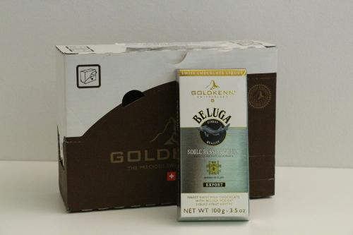 Goldkenn Swiss Milk Chocolate Filled With Beluga Vodka