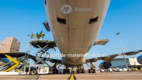 Vols cargo pour matériel médical
