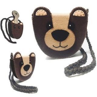 "FELT DIY KIT ""TEDDY BEAR"""