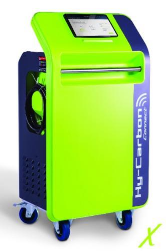 Descaling machine • Hy-Carbon Connect