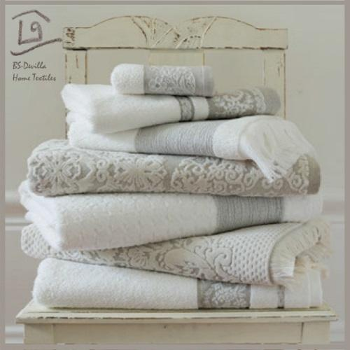Home bath towels - cotton and linen