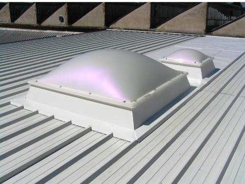 Svetlobniki ALUX Svetlobne kupole, trakovi, fasade in okna