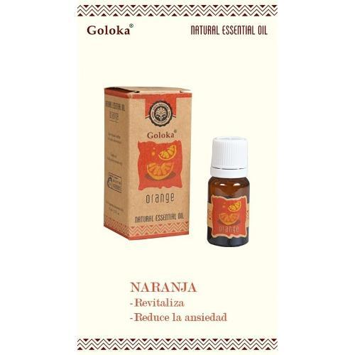 Aceite Esencial Aromaterapia Natural Naranja Goloka 10ml
