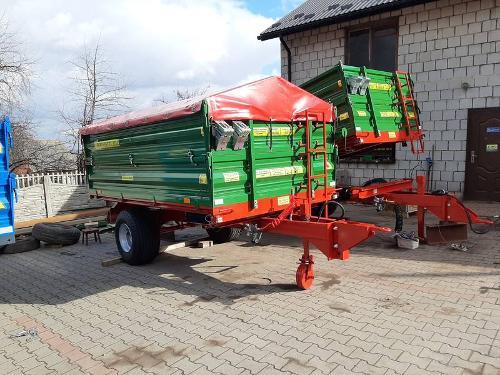 Trailer T-151/2 Load capacity: 5000kg
