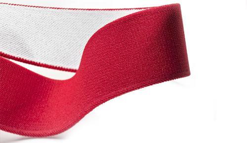 Elastic cord suspender belt