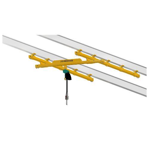 Light crane systems & C rail systems