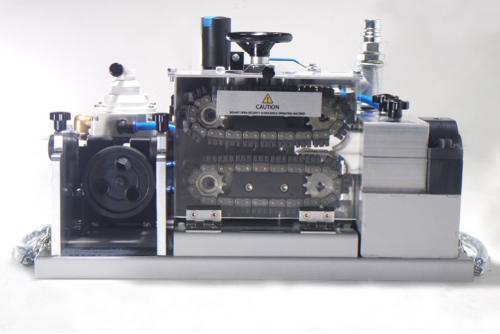 Fiber optik kablo üfleme makinası