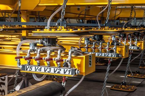 MÉTALLURGIE - Les palonniers pour tôles et acier ACIMEX
