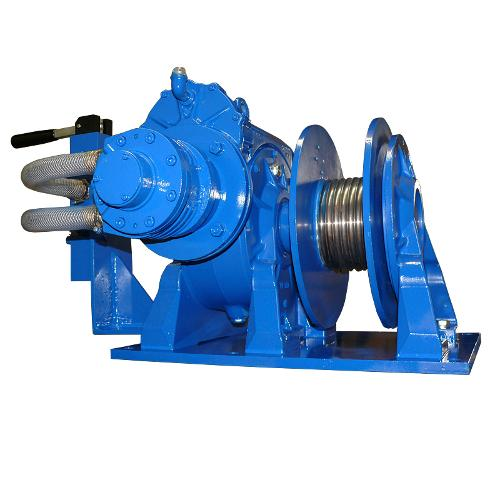Pneumatic wormgear winch MC-L