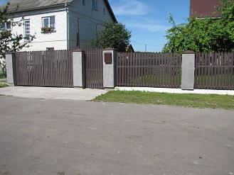 Штакетник, забор, ПВХ , забор пластиковый