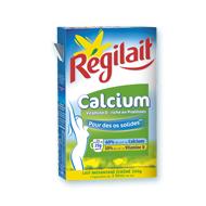 Régilait Calcium Délicieux dans les boissons chaudes! Génial en cuisine!