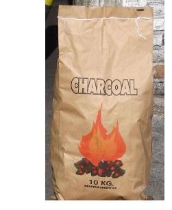 Древесный уголь в бумажном мешке