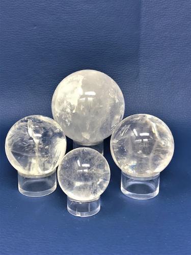 Boule de cristal de roche