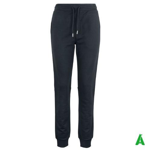 Pantaloni tuta 100% cotone organico tessuto di qualita'