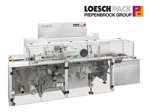Automatische Falteinschlagmaschine für stückige Güter...