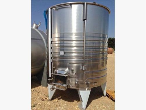 Depósito de acero inoxidable 304 - 75 HL