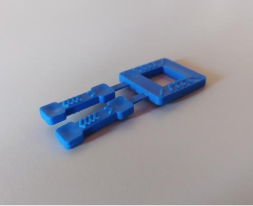 πλαστικές αγκράφες - συνδετήρες τσερκιού