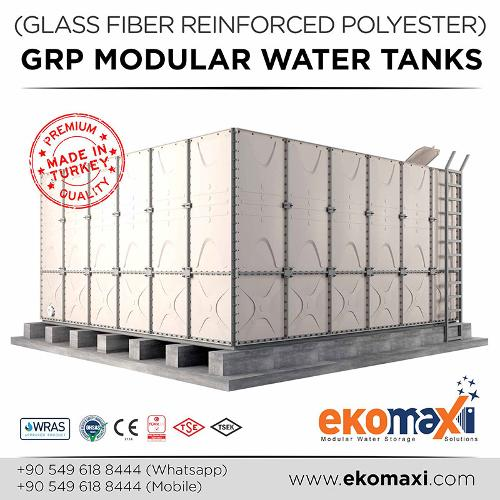 GRP or SMC Water Tank