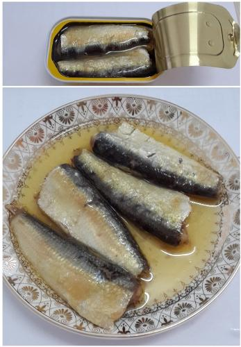 FDA/BRC Certified Chinese Best Canned Sardine Brands