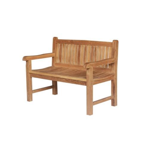 banc de jardin en bois teck