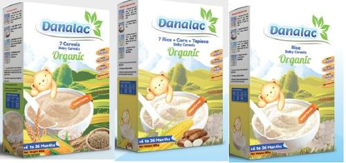 Baby Cereals - DANALAC - Baby food & nutrition  Organic