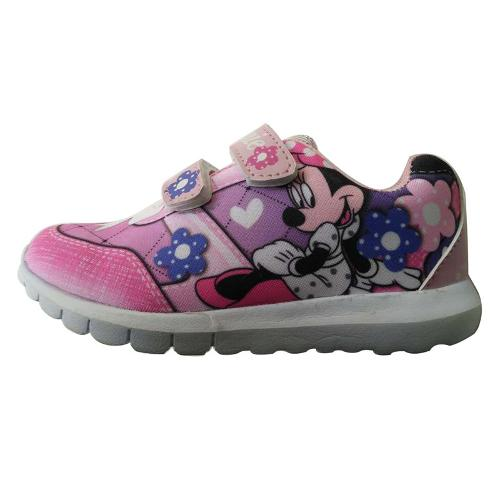 Child pink sport casual shoes