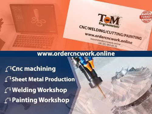 Turkey Cnc sheet metal work  cnc cutting  welding
