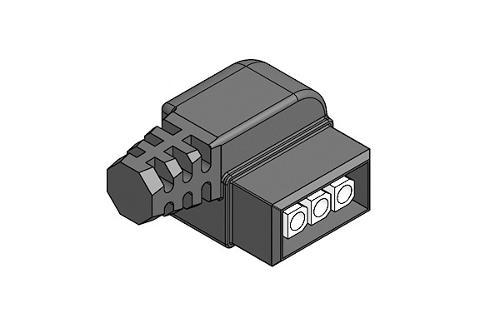 Connettore Lineare per alimentazione elettrica pompe circola