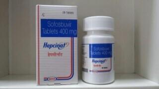 Sovaldi Sofosbuvir 400 mg
