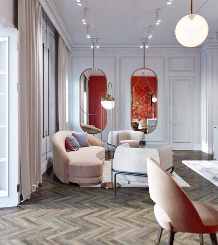 Interior design for hotels
