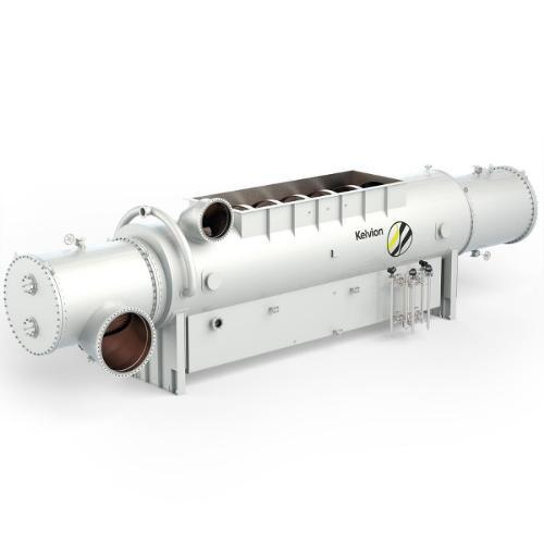 Shell & tube steam