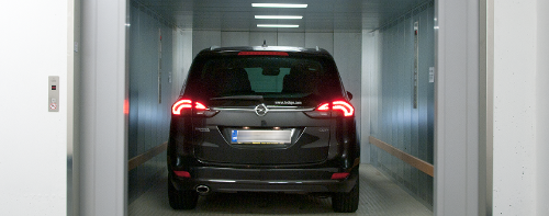 Car elevator TRAFFICO
